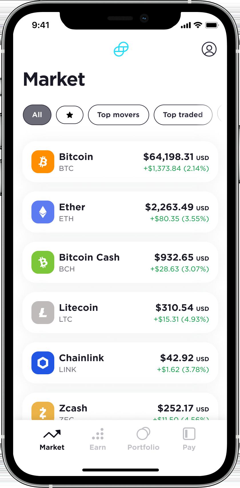 Easiest Crypto Mobile App Gemini